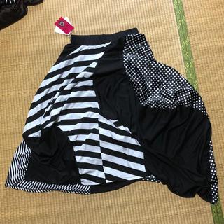 ファンキーフルーツ(FUNKY FRUIT)の変形パッチワークスカート(ロングスカート)