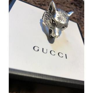 グッチ(Gucci)のGUCCI ウルフリング(リング(指輪))