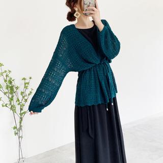 しまむら - 透かし編み カーディガン