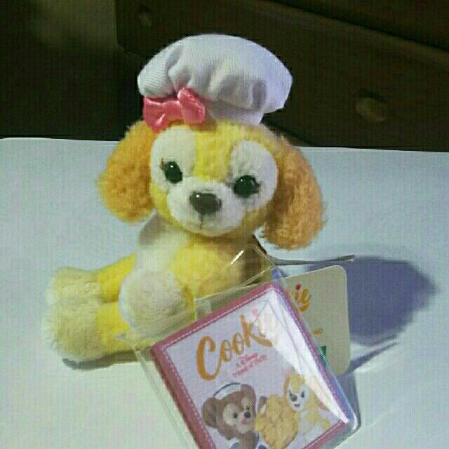 ダッフィー(ダッフィー)の香港ディズニークッキーぬいぐるみ、クッキーマグネット🐩おまけ付き エンタメ/ホビーのおもちゃ/ぬいぐるみ(キャラクターグッズ)の商品写真
