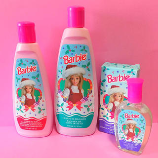 Barbie - ビンテージ バービー Barbie AVON ファンシートイ bubbles