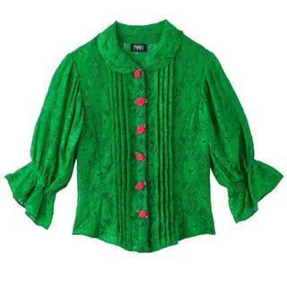 パメオポーズ(PAMEO POSE)のパメオポーズ  レースブラウス  (シャツ/ブラウス(半袖/袖なし))