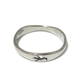 同時購入で300円 ステンレス指輪 鳥(リング(指輪))