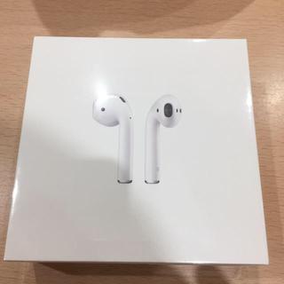 Apple - (値下げ)新品未開封 Apple AirPods エアーポッズ