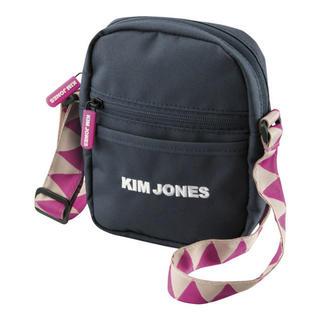GU - GU KIM JONES キムジョーンズ ショルダー ミニバッグ ジグザグ