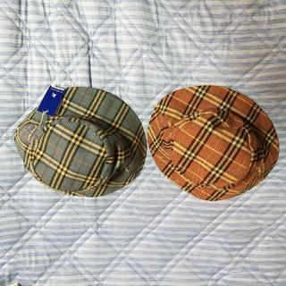 バーバリーブルーレーベル(BURBERRY BLUE LABEL)のバーバリー・ブルーレーベル 帽子 2点セット(ハット)