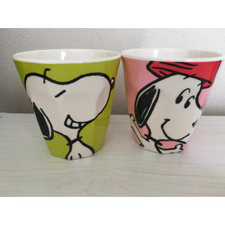 SNOOPY - スヌーピーメラミンカップ