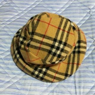 バーバリーブルーレーベル(BURBERRY BLUE LABEL)の未使用 バーバリー・ブルーレーベル ノバチェック 帽子 ハット(ハット)