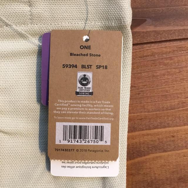 patagonia(パタゴニア)の新品 未使用 Patagonia ホノルル クジラトートバッグ レディースのバッグ(トートバッグ)の商品写真