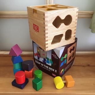 知育玩具 DROP IN THE BOX Ⅱ  ニチガン BB22R