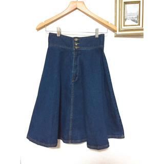 PROPORTION BODY DRESSING - プロポ デニムスカート