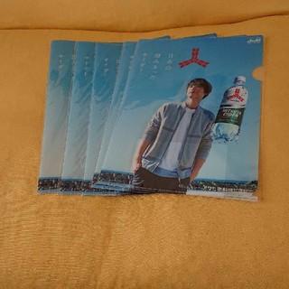 アサヒ(アサヒ)の福士蒼汰さんのクリアファイル非売品5枚セットまとめ売りです‼️(男性タレント)