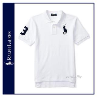 ラルフローレン(Ralph Lauren)の RALPH LAUREN 白ポロシャツ(ポロシャツ)
