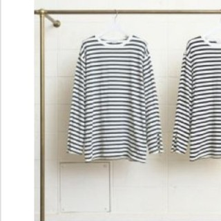 アンユーズド(UNUSED)の新品 アンユーズド ボーダー 2(Tシャツ/カットソー(七分/長袖))