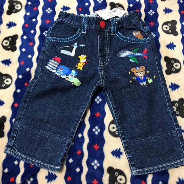 mikihouse(ミキハウス)のミキハウス パンツ 110 キッズ/ベビー/マタニティのキッズ服 男の子用(90cm~)(パンツ/スパッツ)の商品写真