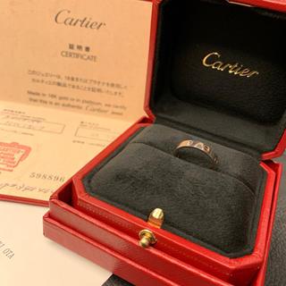 Cartier - カルティエ ラブリング 10号 サイズ50 ホワイトゴールド
