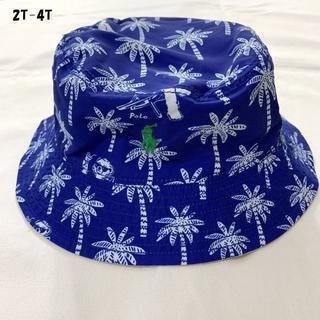 ポロラルフローレン(POLO RALPH LAUREN)のラルフローレン ポロベア リバーシブル バケットハット 帽子 2T-4Tサイズ.(帽子)