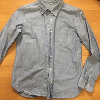ムジルシリョウヒン(MUJI (無印良品))の無印良品*綿100%シャツ(シャツ/ブラウス(長袖/七分))