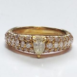 リング  K18  ダイヤモンド(リング(指輪))