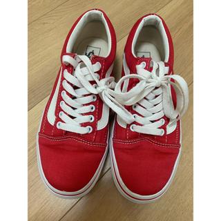VANS - VANS old school red