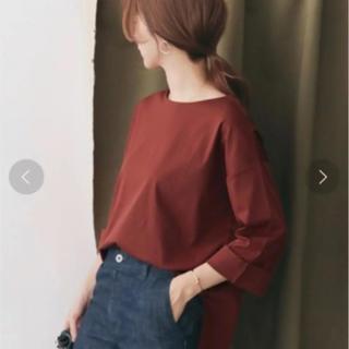 ドアーズ(DOORS / URBAN RESEARCH)のシルケットスムースワイドTシャツ*(Tシャツ(長袖/七分))
