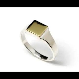 エスオーエスエフピー(S.O.S fp)のシンパシーオブソウル シグネットリング スクエア 15号(リング(指輪))