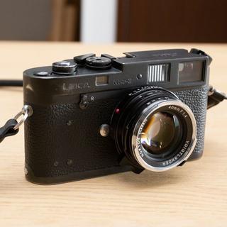 ライカ(LEICA)のLEICA M4-2 / Nokton 40mm f1.4 MC ノクトン(フィルムカメラ)