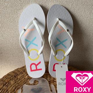 Roxy - 【新品 未使用】ROXY ビーチサンダル 24cm
