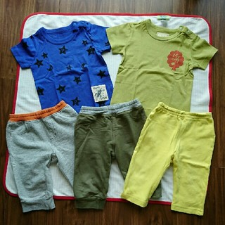 ベルメゾン - 新品未使用 ベルメゾン ジータ 90 トップス Tシャツ ハーフパンツ ズボン