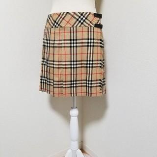 バーバリーブルーレーベル(BURBERRY BLUE LABEL)のバーバリー・ブルーレーベル スカート(ひざ丈スカート)
