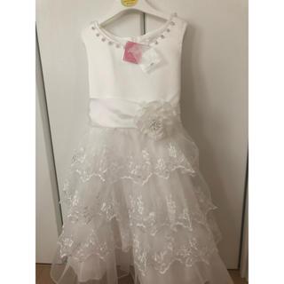 マザウェイズ(motherways)の新品タグ付き♡マザウェイズドレス120cm(ワンピース)