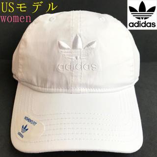 adidas - レア【新品】adidas アディダス USA レディース キャップ 白