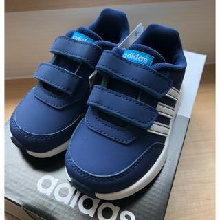 adidas - adidas キッズ  スニーカー 青 14