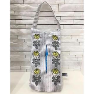 マリメッコ(marimekko)のボックスティッシュカバー    レジ袋ストッカー  マリメッコ(収納/キッチン雑貨)