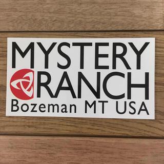 ミステリーランチ(MYSTERY RANCH)のミステリーランチ ステッカー(その他)