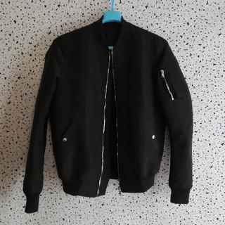 リックオウエンス(Rick Owens)の[極美品] rick owens bomber jacket ボンバー(フライトジャケット)