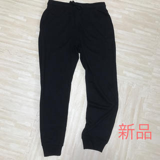 GU - スウェット パンツ ブラック