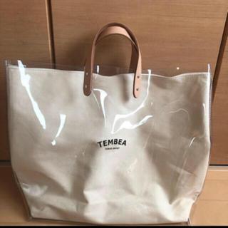 BEAMS - TEMBEA(テンベア) PVC PAINTER TOTE バッグ  クリア