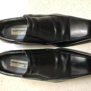 ハッシュパピー(Hush Puppies)のハッシュパピー 革靴 黒 25cm(ドレス/ビジネス)
