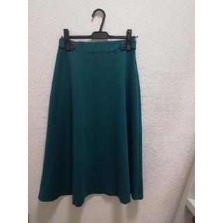 ワールドベーシック(WORLD BASIC)のワールド スカート size M (ひざ丈スカート)