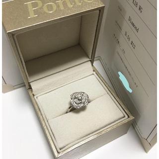 ポンテヴェキオ(PonteVecchio)のポンテヴェキオ   イノセント・ローズ  ダイヤモンドリング  12号(リング(指輪))