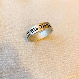 イルビゾンテ(IL BISONTE)のIL BISONTE / イルビゾンテ 真鍮ロゴリング(リング(指輪))