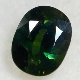 緑と青の神秘的な交わり 2ct UP 天然 ブルーイッシュグリーンサファイア(リング(指輪))