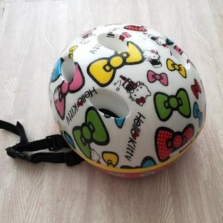 ハローキティ(ハローキティ)の[ハローキティ]自転車用ヘルメット 幼児用(その他)