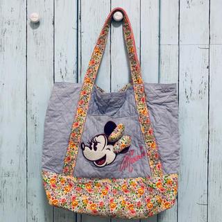 Disney - マザーバック マザーバッグ ミニーマウス ディズニー公式 花柄