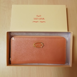 LIZ LISA - 新品!LIZ   LISA★ファスナー長財布★オレンジ系