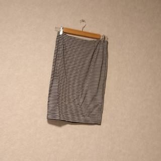 ドアーズ(DOORS / URBAN RESEARCH)のアーバンリサーチ ドアーズ*ボーダータイトスカート(ひざ丈スカート)
