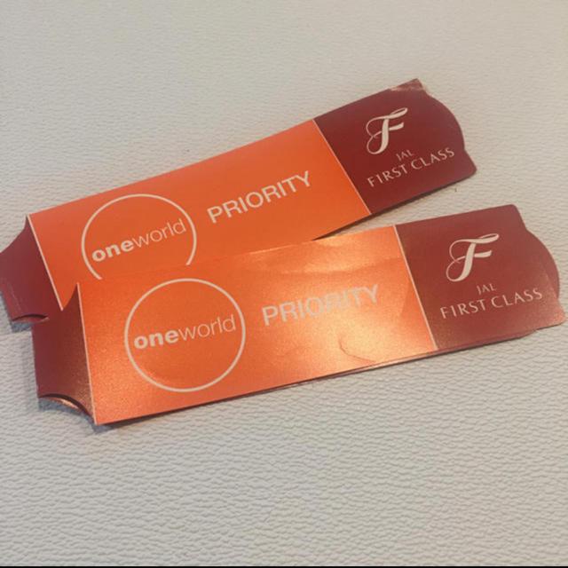 JAL(日本航空)(ジャル(ニホンコウクウ))のJAL プライオリティタグ チケットの優待券/割引券(その他)の商品写真
