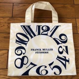 FRANCK MULLER - GINZA SIX限定 フランクミュラー パティスリー のノベルティトートバック
