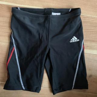 adidas - adidas スクール水着 ブラック レッド 男の子 140